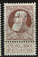 77 Obl Anvers Agence N°1  + 30 - 1905 Grosse Barbe