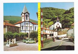 Espagne Navarra Valcarlos Arneguy N°2 Iglesia Renault 4L R8 VOIR ZOOM Citroën DS VW Käfer Peugeot 404 - Navarra (Pamplona)