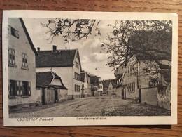 CPA, CRUMSTADT (HESSEN) GERNSHEIMERSTRASSE, écrite En 1919 - Germany