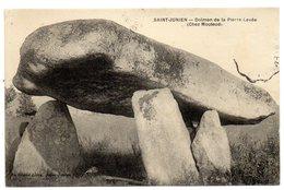 CPA  87      SAINT JUNIEN   -   LE DOLMEN DE LA PIERRE LEVEE        CHEZ MOUTAUD - Dolmen & Menhirs