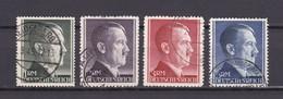 Deutsches Reich - 1942 - Michel Nr. 799/802 A - Gest. - 100 Euro - Deutschland
