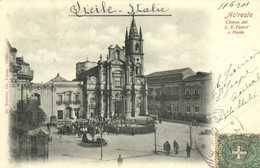 Acireale Chiesa Dei S S Pietro E Paolo + Timbre Cachet RV - Acireale