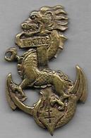 1ere Division Coloniale Extrème Orient- Insigne  Drago Béranger Déposé - Armée De Terre