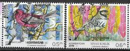 2019 Azerbaijan Aserbeidschan  Set Used  Europe Stamps Birds - 2019
