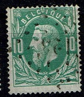 30  Obl  LP 123  Farciennes  + 4 - 1869-1883 Leopold II.