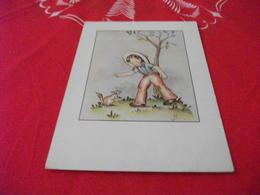 ILLUSTRATORE SIGLA WB BAMBINO CON SCOIATTOLO - Illustratori & Fotografie