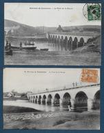 Environs De Coutances - Le Pont De La Roque - 2 Cartes - Coutances