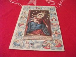MADONNA DI POMPEI REGINA DELLE VITTORIE PREGA PER NOI PREGHIERA MADONNA DEL ROSARIO DOPPIA - Vergine Maria E Madonne