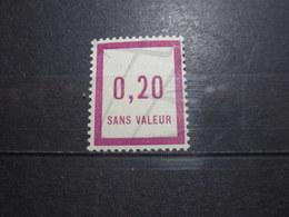 VEND BEAU TIMBRE FICTIF DE FRANCE N° F7 , XX !!! - Phantomausgaben