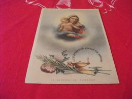MADONNA DEL SUFFRAGIO PARROCCHIA DI S. MARIA DEL SUFFRAGIO VIA SCIPIONE DAL FERRO BOLOGNA PIEGA ANG. - Vergine Maria E Madonne
