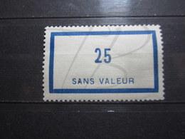 VEND BEAU TIMBRE FICTIF DE FRANCE N° F88 , XX !!! - Fictifs