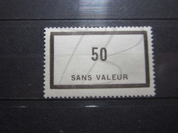 VEND BEAU TIMBRE FICTIF DE FRANCE N° F90 , XX !!! - Phantomausgaben