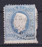 Portugal 1870, Minr 45 Used. Cv 40 Euro But Damaged - Oblitérés