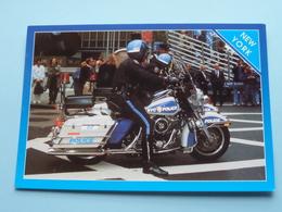 HARLEY DAVIDSON > POLICE NYC > Vew York ( SP-172 City Merchandise ) Anno 19?? ( Voir / See Photo Details ) ! - Motos