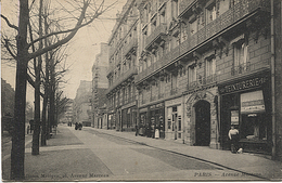 X117907 PARIS 8° AVENUE MARCEAU TEINTURERIE - Distrito: 08