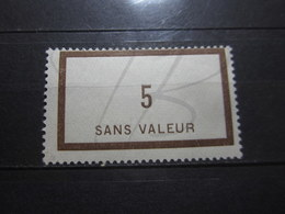 VEND BEAU TIMBRE FICTIF DE FRANCE N° F20 , X !!! - Phantomausgaben