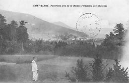 88)  SAINT BLAISE  - Panorama Pris De La Maison Forestières Des Chatelles - Autres Communes