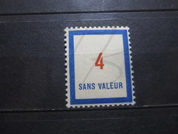 VEND BEAU TIMBRE FICTIF DE FRANCE N° F81 , X !!! - Phantomausgaben