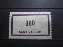 VEND BEAU TIMBRE FICTIF DE FRANCE N° F93 , X !!! - Phantomausgaben