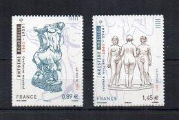 Francia - 2011 - Arte - Sculture - 2 Valori - Nuovi ** - Autoadesivi - (FDC19111) - Francia