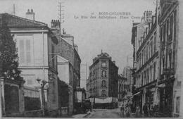 Bois Colombes : La Rue Des Aubépines, Place Centrale - Otros Municipios