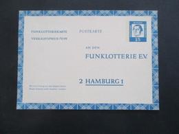 Berlin FP 7 Funklotterie E.V. Postkarte / Ganzsache Bedeutende Deutsche Ungebraucht! - [5] Berlin