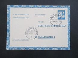 BRD FP 10 Funklotterie E.V. Postkarte / Ganzsache Bedeutende Deutsche Gebraucht / Gestempelt 1966 - [5] Berlin