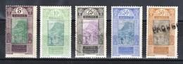 Guinée Petit Lot Anciens Entre N°84 Et 93 - Guinea Francese (1892-1944)