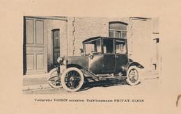 J15 - Voiturette VOISIN Occasion - Etablissement Privat à Dijon - Côtes D'Or - Dijon