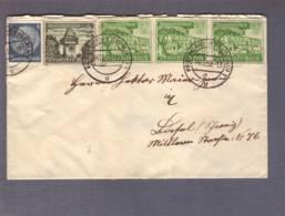 Lettre Obl. Freiburg (Breisgau) 1 - 14.12.12.1939 -> Bâle - Zensur/Censored/Censure De Francfort. - Alemania