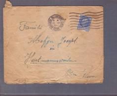 Lettre Aff 2f50 Pétain Obl. Boulogne Billancourt 1941 ->Hartmannsweiler Elsass - Zensur/Censored/Censure De Francfort. - Marcophilie (Lettres)
