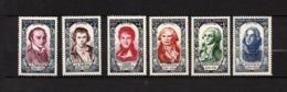 1950 Série N°867 à 872 ** Neuf Sans Trace De Charnières - Ongebruikt