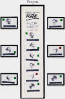 Tb029 Personnages Célèbres Ecrivains Français 2799 2800 2801 2802 2803 2804 + Carnet 2805 FRANCE 1993 Yvert-Tellier - France
