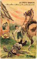 CPA - GUERRE 1914/1818 - Le Petit Brave  - écrite - War 1914-18