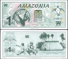Amazônia 1 Ara. 24.10.2005 Unc. Banknote Cat# P.NL [Serie A] - Other - America