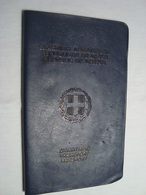 Greece Passport Reisepass Passeport 1981 Canceled Of A Young Man #4 - Documents Historiques