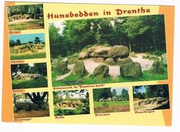 HUN-53    DRENTHE : 8 Different Spots With A Hunebed ( Dolmen) - Dolmen & Menhirs