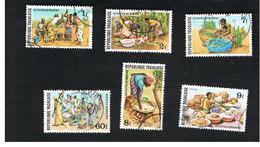 TOGO  - SG 1430.1447  -   1980.1981 MARKET SCENES  - USED ° - Togo (1960-...)