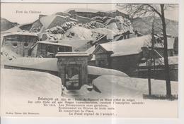 CPA-05-Hautes Alpes- BRIANCON- Porte De Pignerol En Hiver- - Briancon