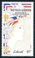 NOUV.-CALEDONIE 1989 - Yv. 579 **   Cote= 4,00 EUR - Liberté, Révolution Française  ..Réf.NCE25288 - Neufs