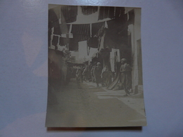 PHOTO ANCIENNE - TUNISIE : Rue Des Teinturiers (La Porte De La Presqu'ile Bab Al Djazira Débouchait Sur Cette Rue) - Africa