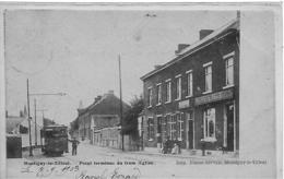 Montignies Le Tilleul-montigny Le Tilleul  - Tram -  Top Carte  Rare - Montigny-le-Tilleul