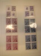 Sammlung Böhmen Und Mähren Ungebraucht Postfrisch Komplett + Extras (1564) - Besetzungen 1938-45