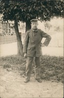 Foto  Soldat Dorfstraße Gel Feldpost Jablonna 1917 Privatfoto - Weltkrieg 1914-18