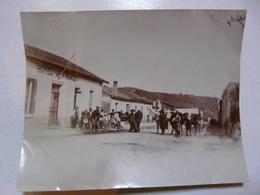 PHOTO ANCIENNE - TUNISIE : Départ D'Aïn Draham (sud De Tabarka) - Ancien Souk Et Centre De Services - Hôtel De France - Africa