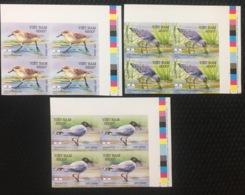 Blocks 4 Of Vietnam Viet Nam MNH Imperf Withdrawn Stamps 2010 : Sea Birds / Bird (Ms992) - Vietnam