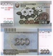 Korea North - 200 Won 2005 / 2007 UNC Comm. P. 54 - 95 Y Lemberg-Zp - Korea, North