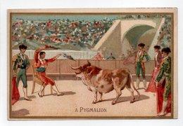 - CHROMO A PYGMALION - Maison GEORGES URION - GRANDS MAGASINS DE NOUVEAUTÉS - PARIS - Dessin SIRVEN - - Autres