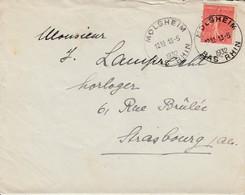 Env Affr Y&T 199 Obl MOLSHEIM Du 13.5.1932 Adressée à Strasbourg - Marcophilie (Lettres)