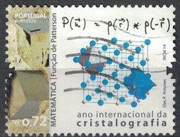 Portugal 2014 Oblitéré Used Année Internationale De La Cristallographie Fonction De Patterson Mathématique SU - 1910 - ... Repubblica